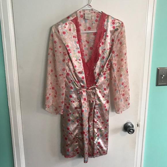 dd70d8f2ee2d Polka Dot Robe with matching nightie. M 5a6cfab7c9fcdf7d1de58836